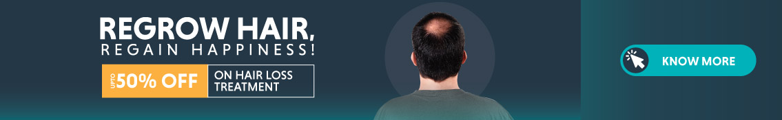 UPTO 50% Off on PRP Hair Loss Treatment