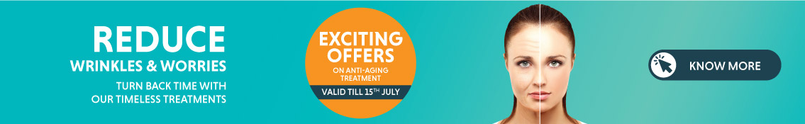 UPTO 50% Off on Anti-Aging Treatment