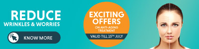 Exciting Offers on Anti-Aging Treatment