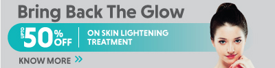 UPTO 50% Off on Skin Lightening Treatment